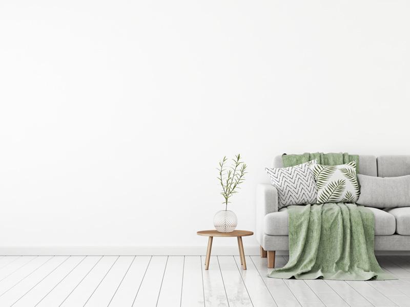 Besonders Kleine Räume Profitieren Also Von Einem Bodenbelag In Hellen  Farbtönen, Von Strahlenden Weiß Bis Zum Warmen Beige.