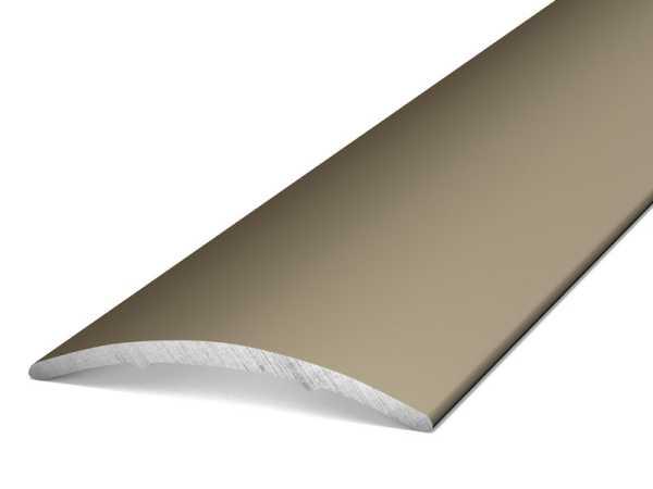 Prinz Übergangsprofil selbstklebend Länge 100 cm Edelstahl matt, 30 mm