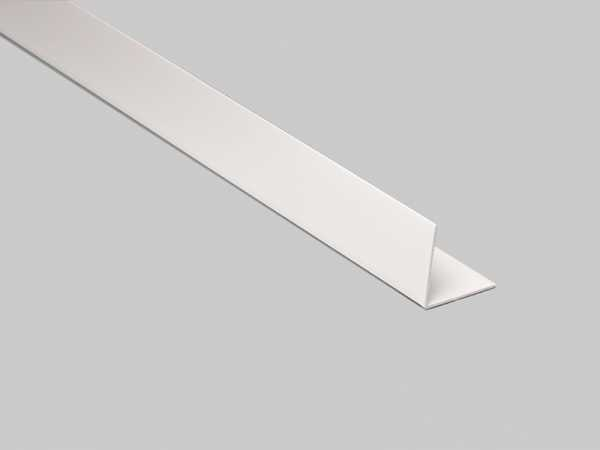 Primo Winkelleiste weiß 30x30mm | Kunststoffwinkel selbstklebend