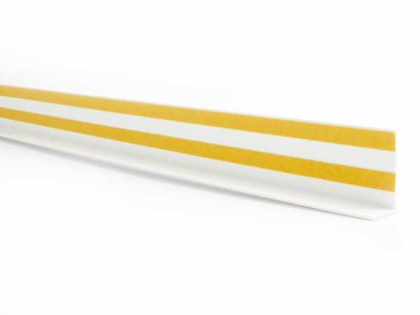 Primo Winkelleiste weiß 20x40mm   Kunststoffwinkel selbstklebend