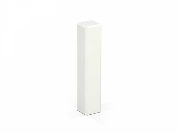 KGM Eckturm weiß 95mm |Universal Ecken für Sockelleisten